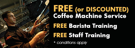 Free (or discounted) coffee machine