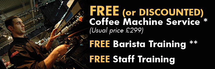 Free (or discounted Coffee Machine Service