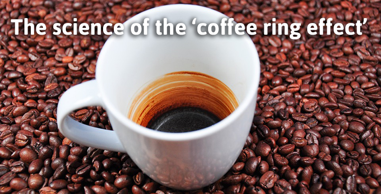 The science of the 'coffee ring effect'
