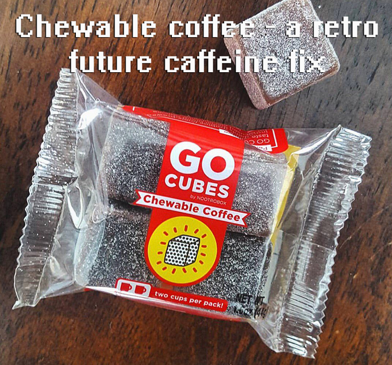 Go Cubes - chewable coffee