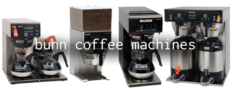 bunn coffee machines