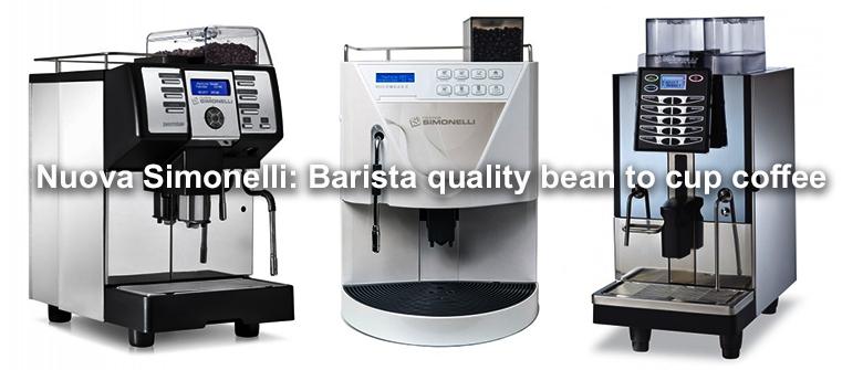 Nuova Simonelli - Barista quality bean to cup coffee