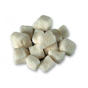 White Rough Cut Sugar Cubes