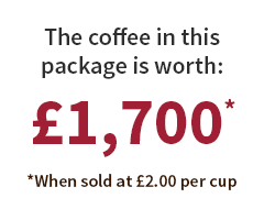 Coffee Worth £1700