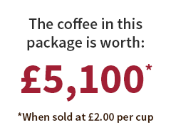 Coffee Worth £5100